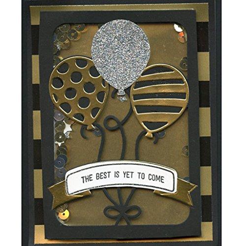 Yeahii Balloon Cutting Dies Stencil DIY Scrapbooking Embossing Album Paper Card Crafts by Yeahii (Image #2)