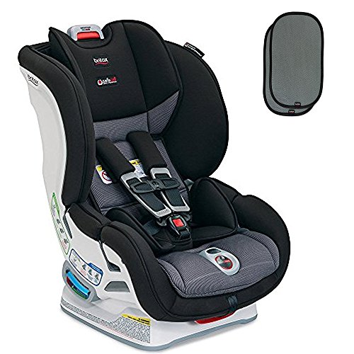 Britax USA Marathon ClickTight Convertible Car Seat with Sunshade, Verve