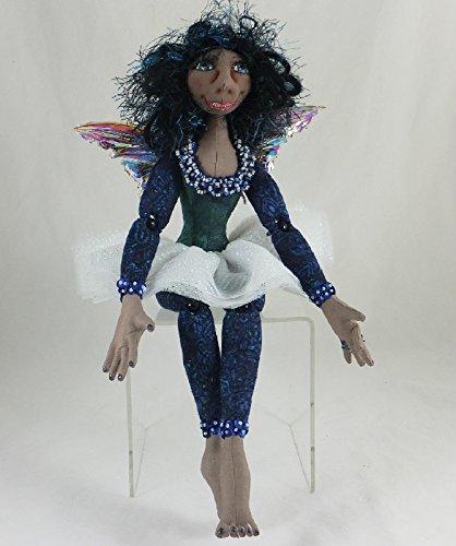 Cloth Doll Fairy, Tissa the Faery Art Doll, OOAK Doll, Handmade Doll, Collector Doll