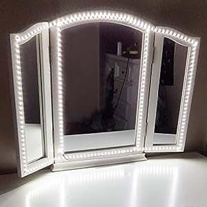 Led Vanity Mirror Lights Kit Vilsom 13ft 4m 240 Leds Make