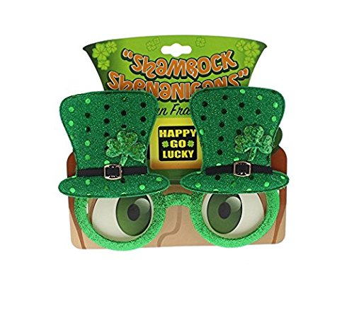 Snoopy Costume For Baby (St Patricks Day Novelty Glasses - Accessories Party Supplies - Green)