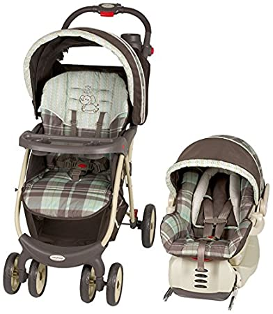 Amazon.com : Baby Trend Envy 5 Travel System, Jungle Safari : Infant