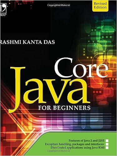 Das kanta java by rashmi core pdf for beginners