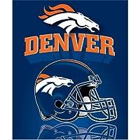 Northwest Denver Broncos Gridiron Fleece Throw
