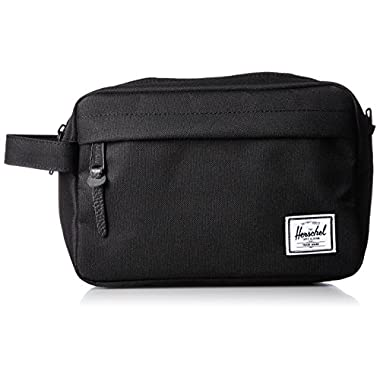 Herschel Supply Co. Men's Chapter Travel Kit, Black, One Size