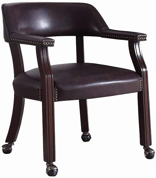 Coaster Home Furnishings Upholstered Office Chair Brown