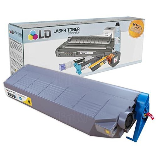 LD © Okidata C9300/C9500 Series 'Type C5' Compatible High Yield Yellow 41963601 Laser Toner Cartridge