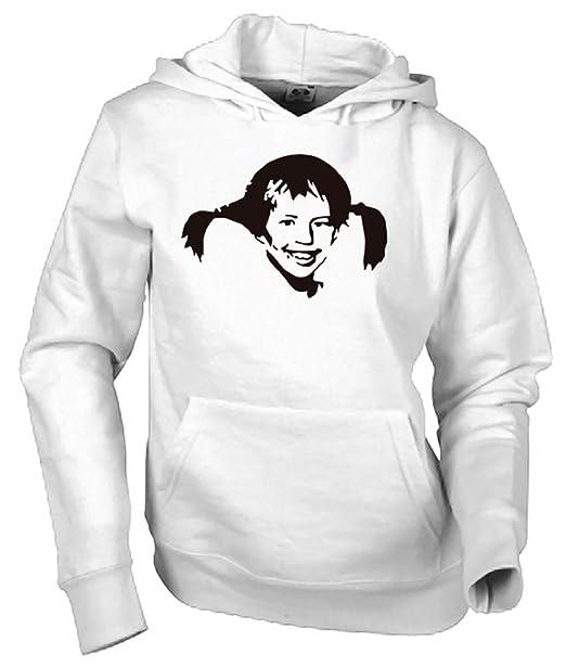 Camisetas EGB Sudadera Pippi Calzaslargas Adulto/Niño ochenteras 80Žs Retro: Amazon.es: Ropa y accesorios