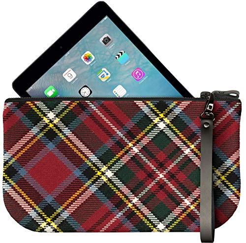 Tartan Prince Bonnie Clutch Small iPad Bag Leather Fits Charlie Mini ZqCSwHC