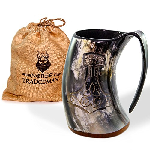 Norse Tradesman Genuine Drinking Engraving product image