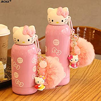 2d65576fda8 Best Quality - Water Bottles - Hello Kitty Kettle 200ml/280ml Mini Cartoon  Stainless Steel