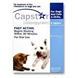 Novartis Novartis Capstar Flea Treatment Blue Tabs For Dogs And Cats