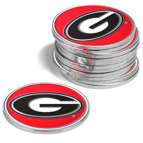 Georgia Bulldogs Golf Ball Markers (4 Pack)
