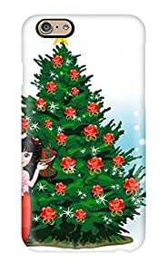 (LZDNvQN4212yJsZi)durable Protection Case Cover For Iphone 6(christmas Holiday Christmas)