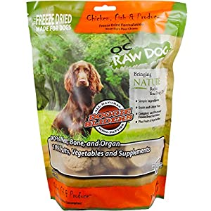 OC Raw Freeze Dried Chicken, Fish & Produce Sliders 14oz