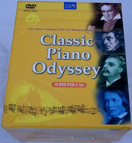 (Classic Piano Odyssey 10 DVD Pcs-a Set)