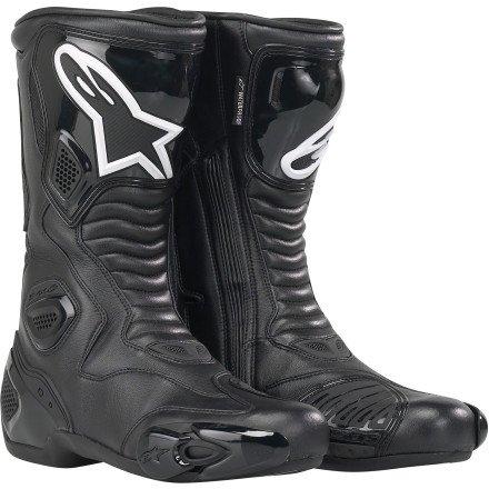 Alpinestars Smx 4 Boot (Alpinestars S-MX 5 Waterproof Boots - 4 US / 37 Euro/Black)