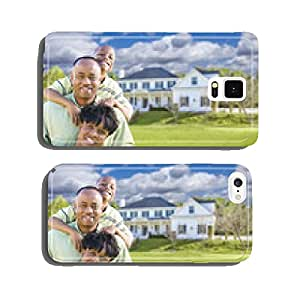 African American Family In Front of Beautiful House cell phone cover case iPhone5