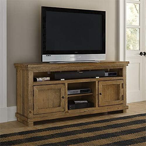 Progressive Furniture Willow Console, 64 , Distressed Pine