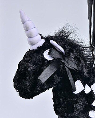 Nite Black Halloween Unicorn Women Shoulder Bag for Bags Purse Lolita Crossbody closet vPfrwxqv