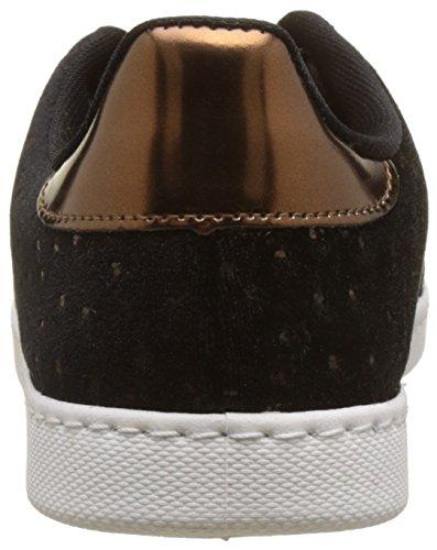 Victoria Women's Deport.Terciopelo Avestruz Low-Top Sneakers Beige (Bronze) TgLX9