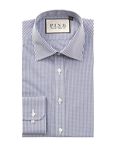 thomas-pink-mens-burley-dress-shirt-15r-blue