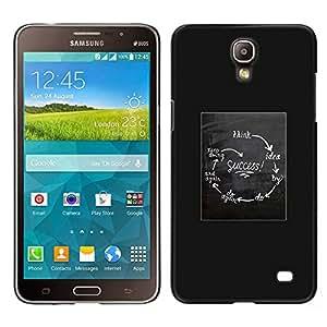 [Neutron-Star] Snap-on Series Teléfono Carcasa Funda Case Caso para Samsung Galaxy Mega 2 [Success Chart Poster Funny Grey White]