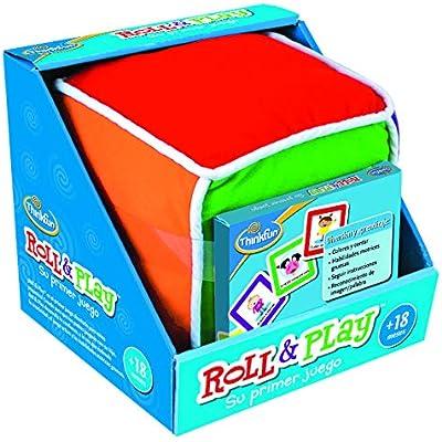 ThinkFun Roll & Play, Juego educativo para bebes, Edad recomendada a partir de 18 meses (Ravensburger 76322)