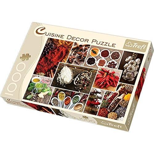 Trefl 58345 - Puzzle Classique - Cuisine Décor Epices - 1000 Pièces