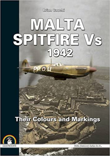 Malta Spitfire Vs - 1942: Their Colours and Markings White ...