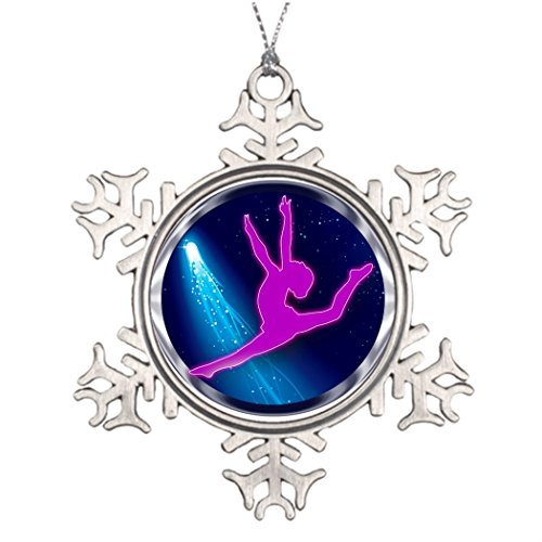 Metal Ornaments GYMNASTICS SPACE RING Personalised Christmas Tree Decoration Halloween Tree Decorations -