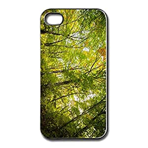 Design Full Protection Sports Beech Forest IPhone 4 4S Case Cover For Birthday Gift