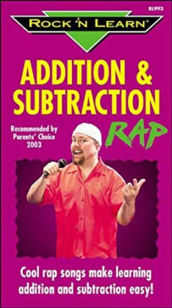 Amazon com: Rock 'N Learn:Addition & Subtract Rap [VHS]: Rock 'N