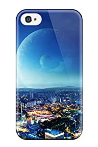 New Style Premium City Night Fantasy Heavy-duty Protection Case For Iphone 4/4s 4006361K98312856