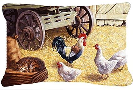 Amazon.com: Caroline tesoros del Gallo & Gallinas de pollos ...