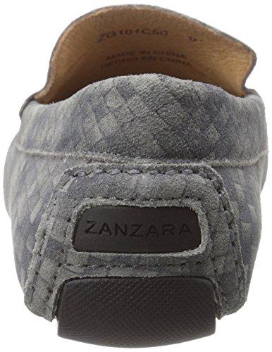 Zanzara Mens Davinci Slip-on Loafer Grå