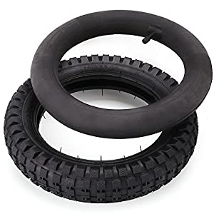 LotFancy 12.5 x 2.75 Tire & Inner Tube Set for Razor Electric Dirt Bike MX350 MX400, X-Treme X-560 - Heavy Duty Scooter Tire Tube for Mini Pocket Bikes