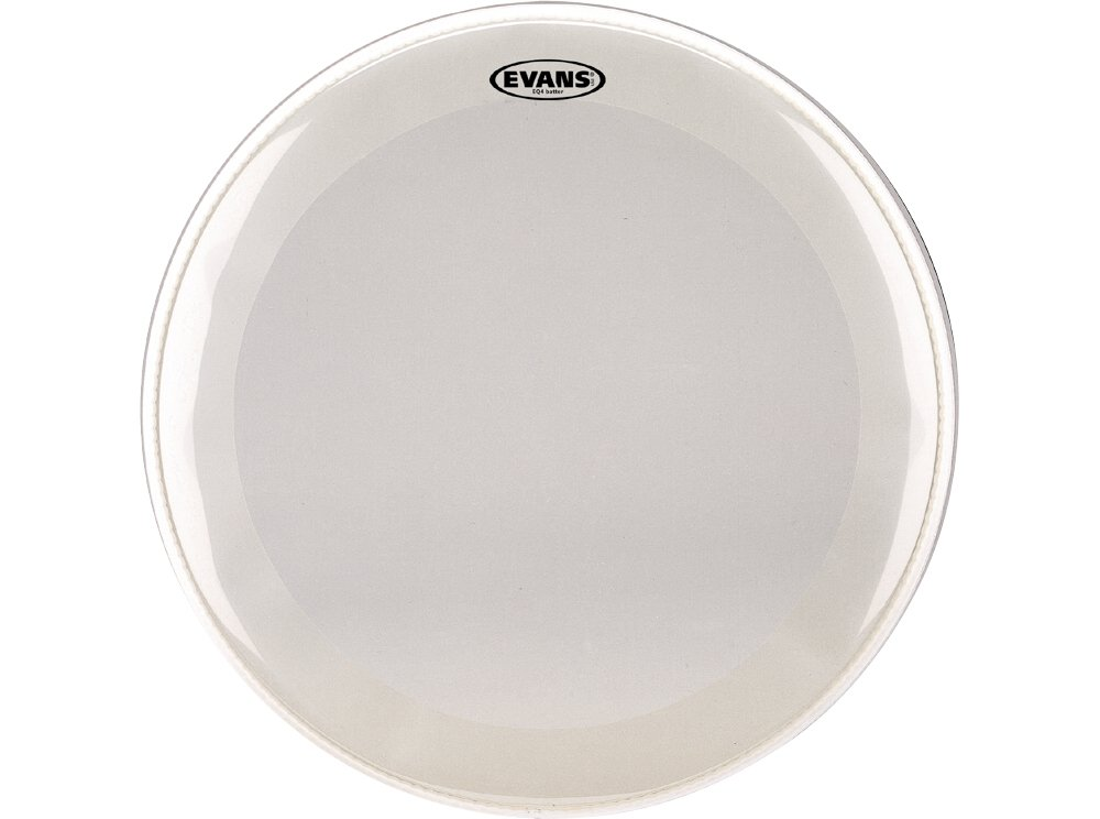 Evans EQ4 Frosted Bass Drum Head, 22 Inch Evans Heads BD22GB4C