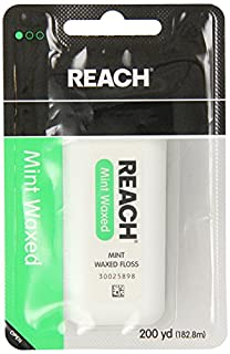 REACH Mint Waxed Floss 200 Yards (Pack of 4) (B00L56MEA2) | Amazon price tracker / tracking, Amazon price history charts, Amazon price watches, Amazon price drop alerts