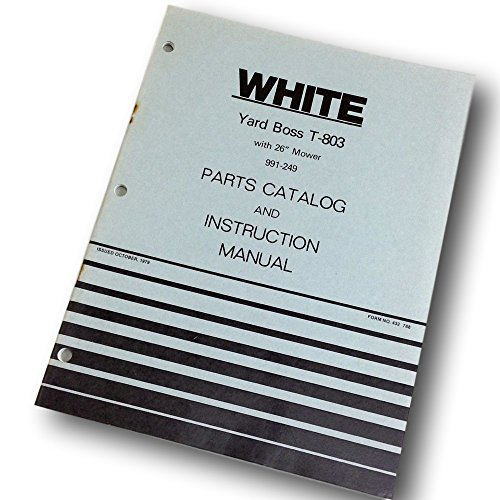 White Yard Boss T-803 26