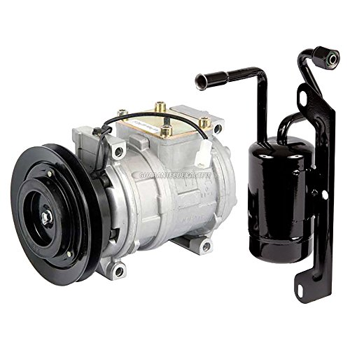 AC Compressor w/A/C Drier For Chrysler Concorde Eagle Vision Dodge Intrepid - BuyAutoParts 60-86155R2 NEW ()