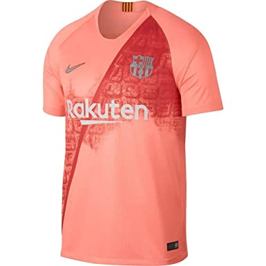85f8ed072 Amazon.com  Nike 2018 19 FC Barcelona Stadium Third Men s Soccer Jersey   Clothing