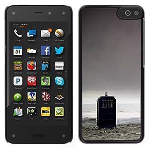 // PHONE CASE GIFT // Duro Estuche protector PC Cáscara Plástico Carcasa Funda Hard Protective Case for Amazon Fire Phone / Caja de Policía - Doctor /