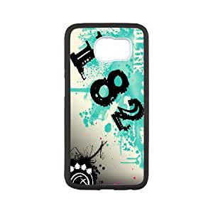 Best Phone case At MengHaiXin Store Blink 182 Music Band Pattern 7 For Samsung Galaxy S6
