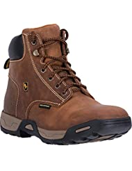 Dan Post Mens Tan Cabot Work Leather Boots Lace-up WP