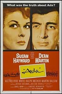 Ada Poster Movie 27 x 40 In - 69cm x 102cm Susan Hayward Dean Martin Wilfrid Hyde-White Ralph Meeker Martin Balsam