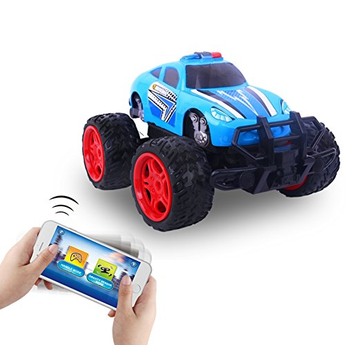 Remote Control Car, Kids Racing RC Cars Toy Controlled by Mobile APP with IOS or Android System