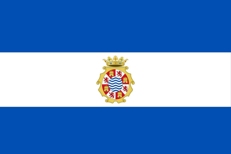 magFlags Bandera Large Jerez de la Frontera, Andalucía España   Bandera Paisaje   1.35m²   90x150cm: Amazon.es: Jardín