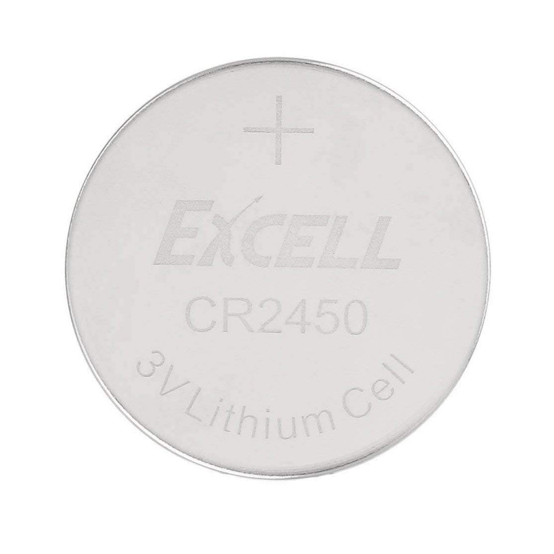 LouiseEvel215 5 PCS//lot EXCELL 3V CR2450 Piles Au Lithium Pile Bouton Piles Au Lithium Cell 3 Volts Piles Bouton pour Montre LED Lumi/ères Jouets