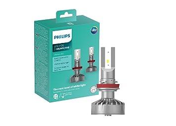 Philips foco de luz antineblina para automóvil 11366ULWX2 - Bombilla para coches (H8, LED